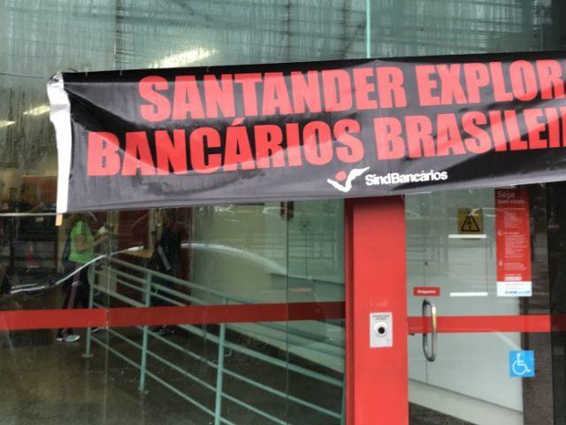 """Servidão """"voluntária"""" no Santander"""