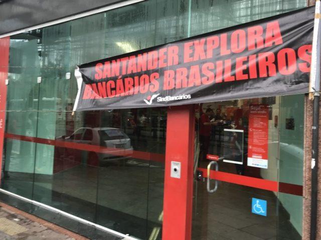 """Um maio de resistência ao """"voluntariado"""" do Santander"""