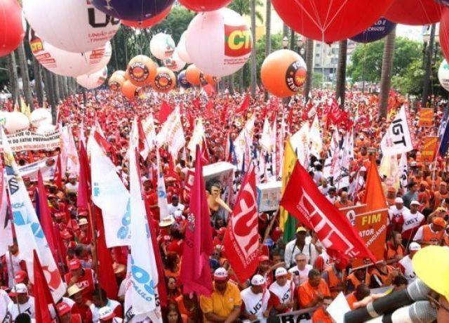 Centrais definem 15/05 como Dia Nacional de Luta, rumo à greve geral ...