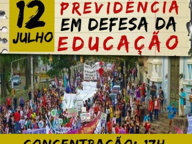 Estudantes e sindicalistas realizam ato nesta sexta, 12, contra reforma da ...