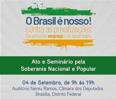 Privatizações e soberania em debate público em Brasí...