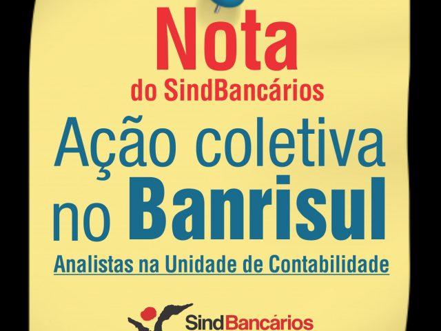 SindBancários defende direitos de trabalhadores do Banrisul