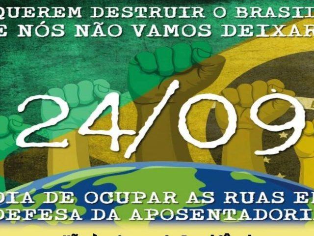 CUT e centrais vão à Brasília defender aposentadoria e ...