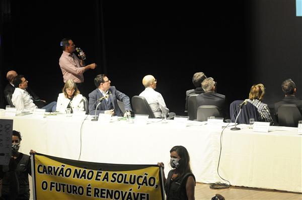 SindBancários acompanha audiência sobre Mina Guaíba