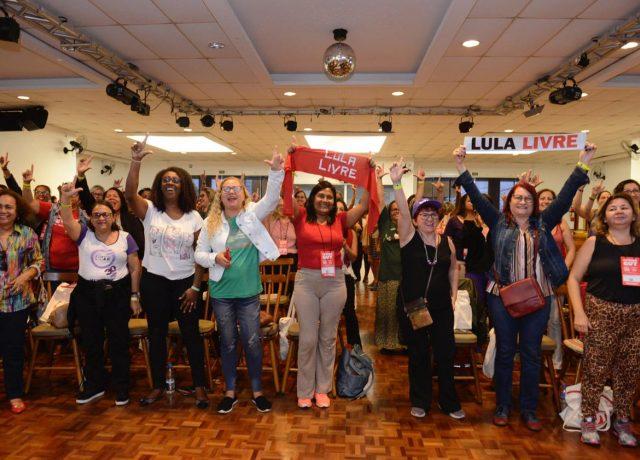 Mulheres fazem história no Congresso da CUT
