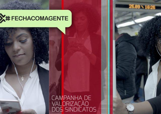 Contraf-CUT lança Campanha #FechaComAGente