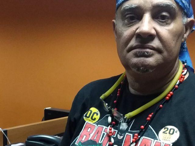 Sindicalista participa de Gibiteca a serviço da educação