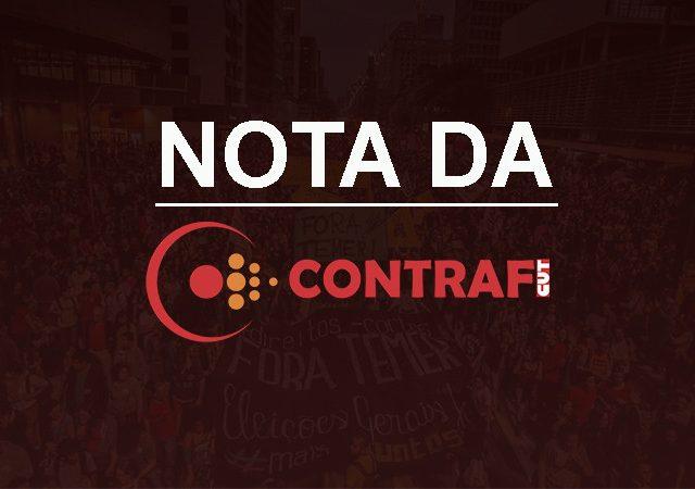 Contraf-CUT repudia o golpe de Estado na Bolívia