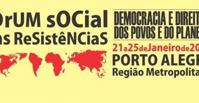 Trabalhadores preparam Fórum Social das Resistências 2020 neste janeiro ...
