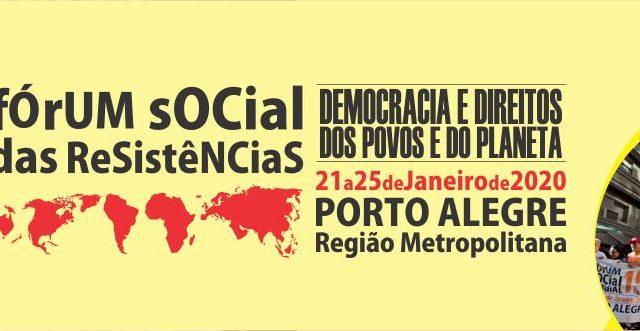 Sindicato acolhe Fórum Social das Resistências
