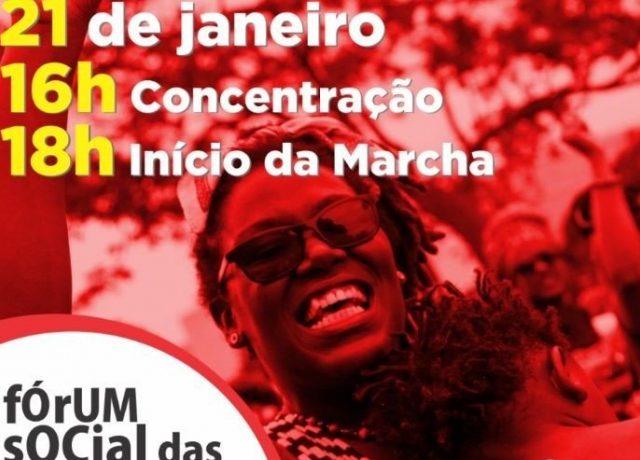 Marcha abre Fórum Social das Resistências nesta terç...