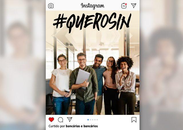 Contraf-CUT lança campanha #QueroSin