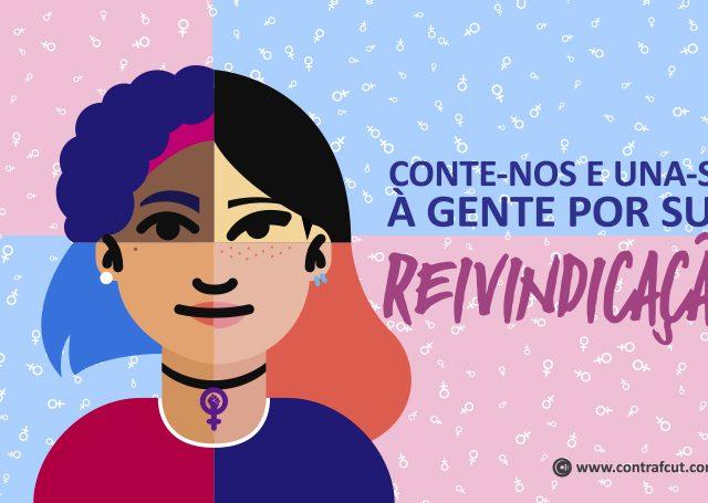 Pesquisa define pauta de luta para Dia Internacional das Mulheres