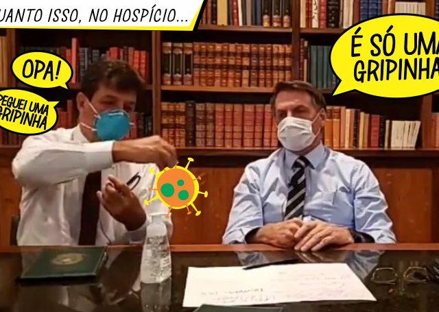 Bolsonaro fortalece sua irresponsabilidade