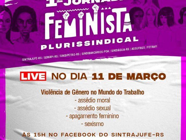 Live aborda violência contra mulher
