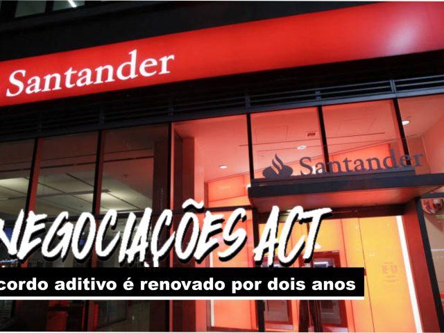 Bancários do Santander conquistam renovação do acordo aditivo ...