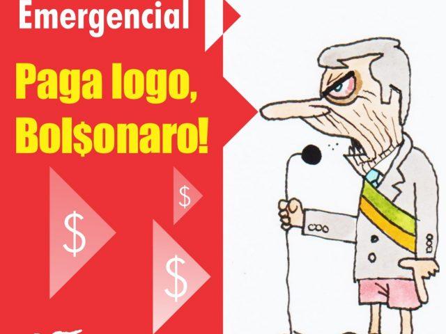 Só falta Bolsonaro assinar ampliação de auxílio