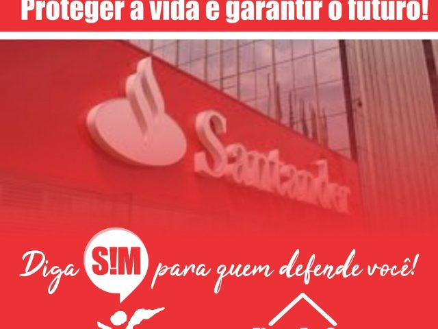 COE cobra orientação do Santander ao grupo de risco