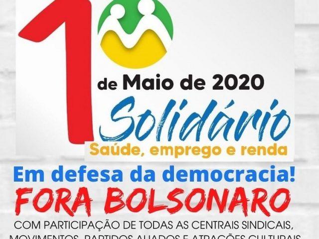Ato virtual chama para 1º de Maio Solidário