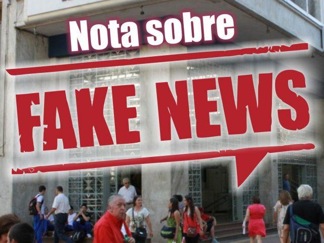 """Não passa de fake news um """"acordo com Banrisul"""" ..."""