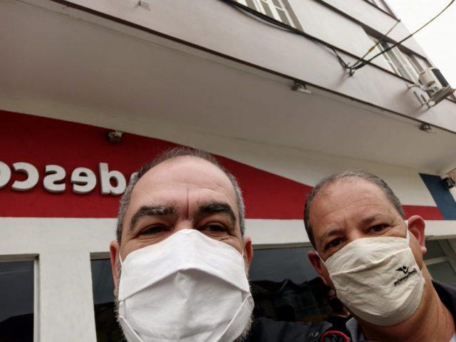 SindBancários atende caso de Covid-19 no Bradesco