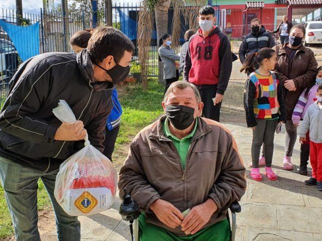 SindBancários entrega 40 cestas básicas a moradores de duas ...