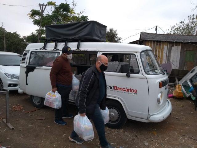 Solidariedade: SindBancários segue apoiando entidades carentes com alimentos e ...
