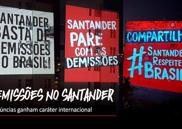 Santander não para de demitir em plena pandemia