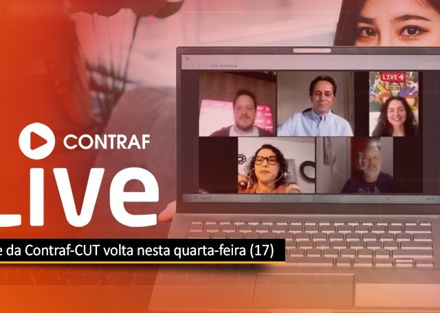 """Nesta quarta, dia 17, """"live"""" da Contraf terá participação da ..."""