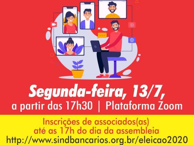 SindBancários dá início ao processo eleitoral 2020