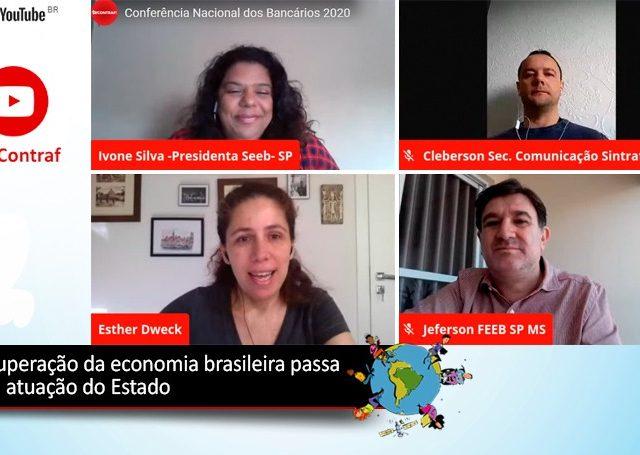 Economia brasileira necessita de atuação ativa do Estado para ...
