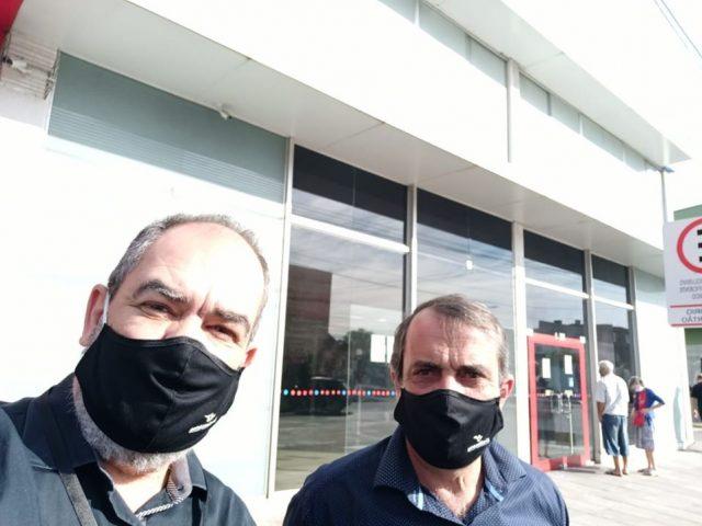 Sindicato garante sanitização e asfastamentos em Bradesco de Viamã...