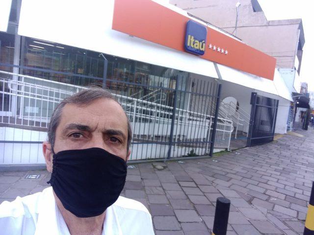 Agência do Itaú fecha por suspeita de Covid-19