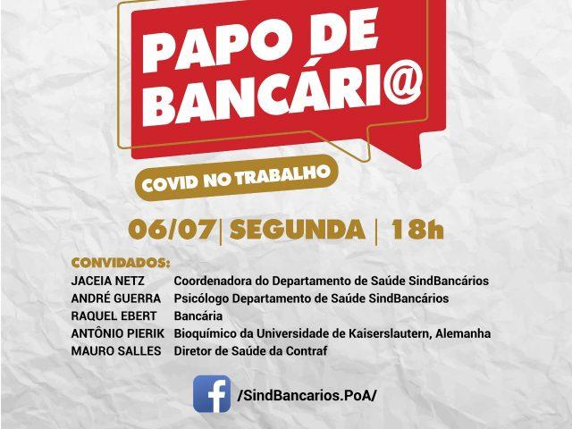 SindBancários estreia Papo de Bancári@ com live na ...