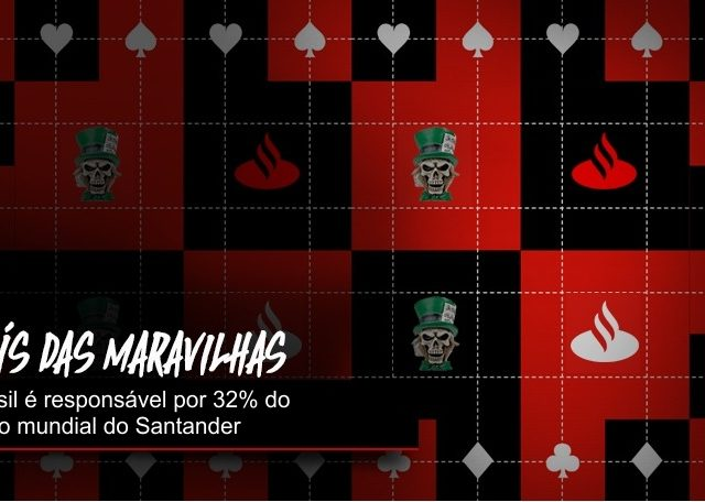 Lucro do Santander no Brasil representa 32%de sua lucratividade mundial