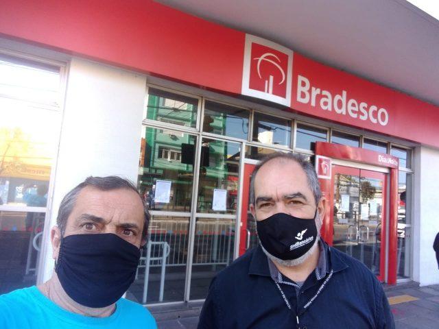 Sindicato mantém agência Azenha do Bradesco fechada