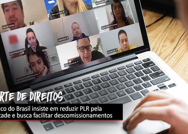 Banco do Brasil insiste em cortes de direitos