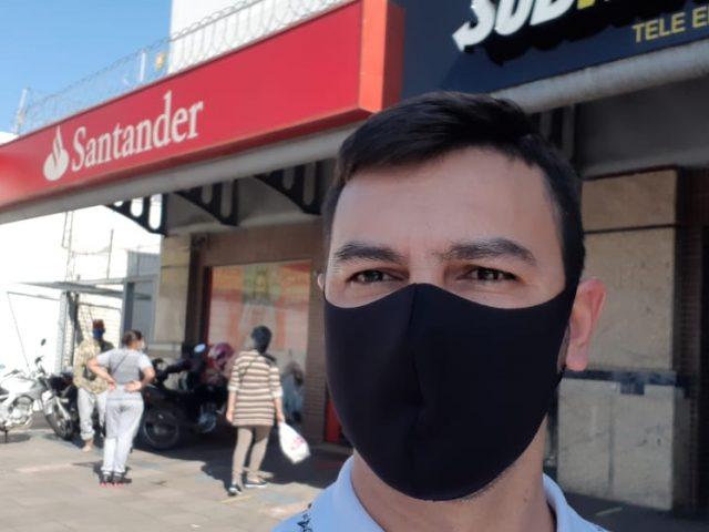 SindBancários fiscaliza agência com caso de Covid-19