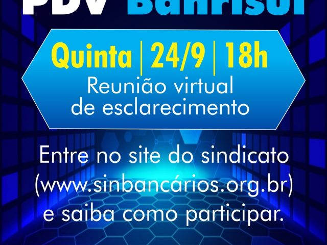 Reunião virtual tira dúvidas sobre PDV Banrisul nesta ...