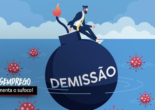 Cresce desemprego no Brasil e bancos continuam a demitir