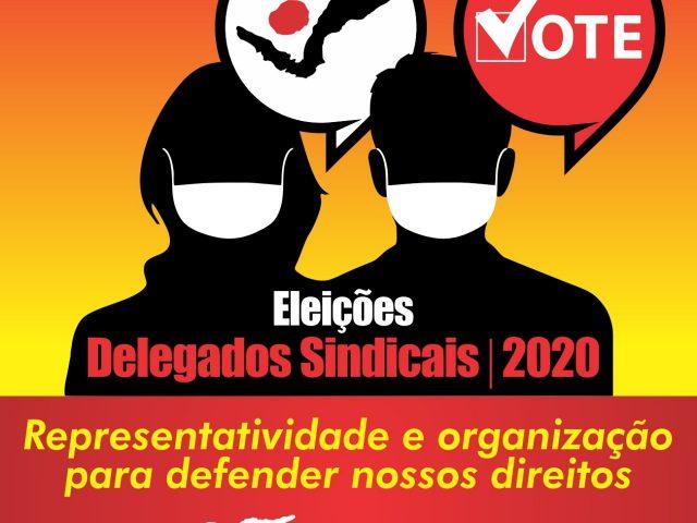 Eleições para delegados sindicais começam nesta quarta!