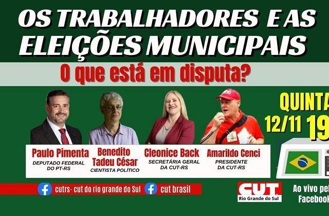 O que está em disputa nas eleições municipais? Live ...