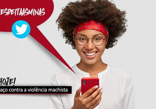 Ao meio-dia desta quarta, 25, tem tuitaço de combate à violê...