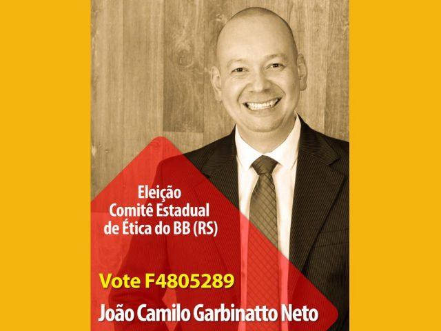 SindBancários apoia João Camilo Garbinatto Neto para o ...