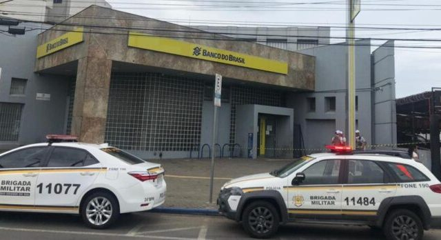 Agência do BB é atacada em Alvorada, nesta quinta-feira