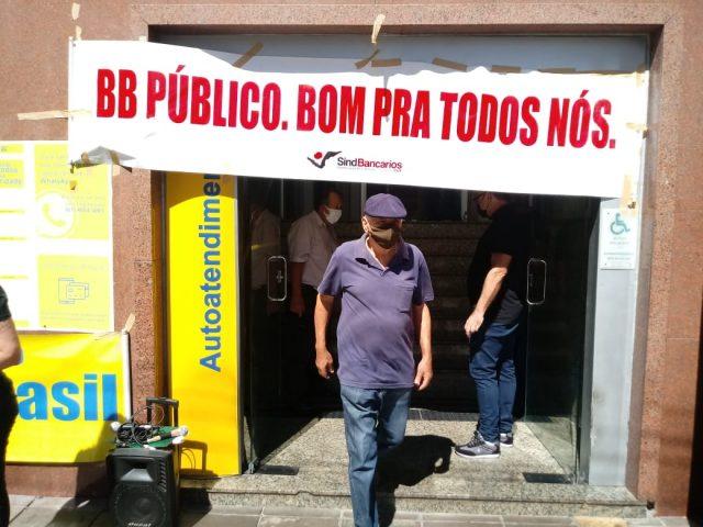 Empregados do BB denunciam desmonte do banco