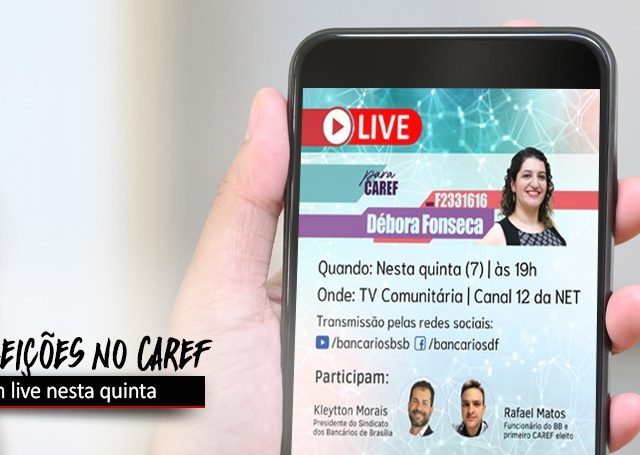 BB: Débora Fonseca, candidata ao Caref, faz live nesta ...
