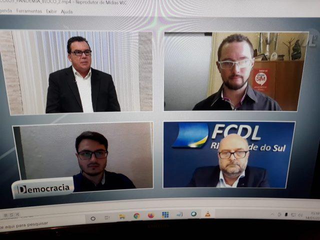 Presidente do SindBancários debate pandemia na TVAL
