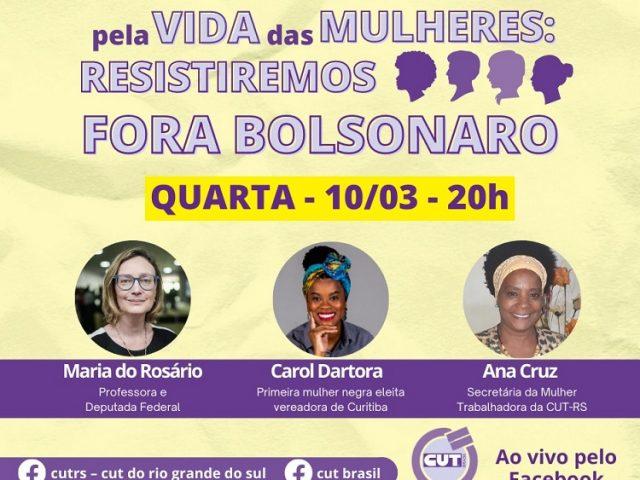 8M: CUTRS promove live com debate sobre resistência pela ...