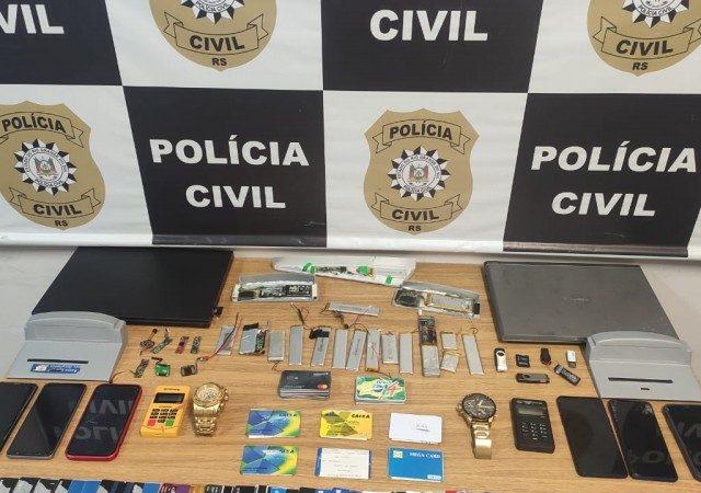Presa em Pelotas quadrilha que aplicava golpes usando caixas eletrô...